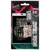 SUICIDE SQUAD - LOGO   stage pass - kulcstartó