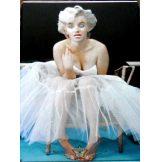 MARILYN MONROE. 30x40.cm. fém tábla kép