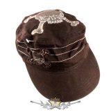 SKULL - 2 Skull design. CADET CAp .   baseball sapka