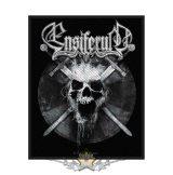 Ensiferum - Skull.  felvarró