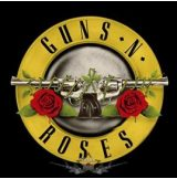GUNS N ROSES - Circle logo.   SFL. felvarró