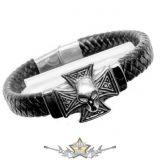 Motoros * Iron Cross & Skull.  karkötő, csuklópánt