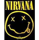 NIRVANA - SMILE  logo felvarró