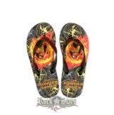Az éhezõk viadala -  The Hunger Games. Movie Flip Flops . Mockingjay.  papucs