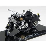 Atlas Indian Chief.  1948 Classic Superbike Motorrad Modell modell, motoros dísztárgy
