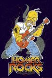 THE SIMPSONS - HOMER ROCK plakát, poszter