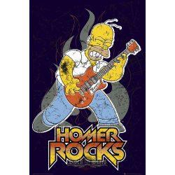 THE SIMPSONS - HOMER ROCK plakát, poszter