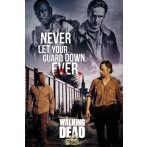 WALKING DEAD - Rick & Morgan.  plakát, poszter