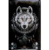 WOLF INDIÁN. -  Metal Sign.  20X30.cm. fém tábla kép