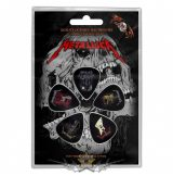 Metallica -  'Guitars' Plectrum Pack.  gitárpengető szett