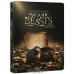 Fantastic Beasts and Where to Find Them.  Steelbook 3d 2d.  Blu ray disc