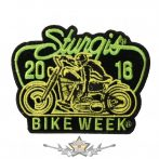 BIKE WEEK 2016 - Sturgis Motorcycle Patch. USA.  felvarró