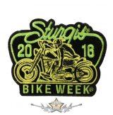BIKE WEEK 2016 - Sturgis Motorcycle Patch. USA.  felvarró