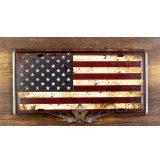 American Flag. fém dekorációs tábla.