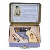 """Colt knife """"Billy the Kid"""" - + kis golyókés fémdobozban . 774-3092.    hobby kés, bicska, tőr, dísztárgy"""