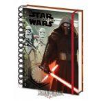 Star Wars Episode VII -  Kylo Ren & Troopers. A5 Notebook.   napló, notesz