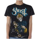 Ghost - Papa of the World  Mens T-shirt. zenekaros póló