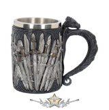 Sword Dragon - Tankard Gothic Fantasy Mug.  14.cm..  korsó, kehely