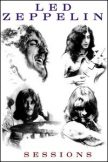 LED ZEPPELIN - SESSIONS  hűtőmágnes