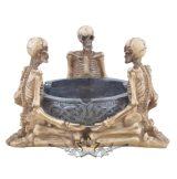Three skeleton ashtray - Három csontvázas hamutartó . 816-347.  hamutartó