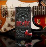 AC/DC -  Black Ice Embossed Purse 18.5cm. B5520T1.  import pénztárca