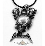 Metallica - Skull  JVP.   nyaklánc, medál
