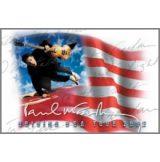 THE BEATLES - PAUL McCARTNEY-USA FLAG  hűtőmágnes