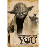 Star Wars (Yoda, May The Force Be With You).  plakát, poszter
