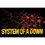 SYSTEM OF A DOWN - SPLATTER  hűtőmágnes