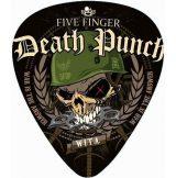 FIVE FINGER DEATH PUNCH - LOGO.  pengető nyaklánc, kulcstartó