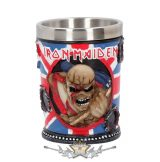 Iron Maiden - Eddie The Trooper Shot Glass.  Officially Licensed Merchandise 7.5cm..