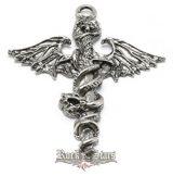 Mötley Crüe logo.  JVP..  nyaklánc, medál