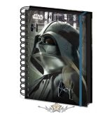 Star Wars - Rogue One - Darth Vader - A5 Jegyzetfüzet. A5 Notebook.   napló, notesz