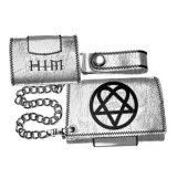HIM - Ville Valo. gothic rock band. Logo  import pénztárca