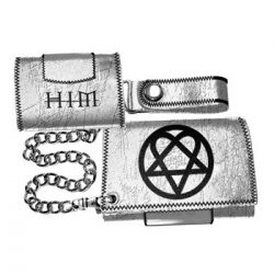 HIM - Ville Valo. gothic rock band. Logo  import pénztárca