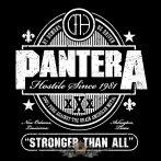 PANTERA - STRONGER.   SFL. felvarró