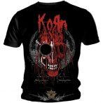 KORN - Red logo. zenekaros póló