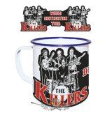The Killers.  zománcozott retro fém bögre