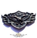 EAGLE USA. KGJ.  nagyméretű fém motoros jelvény