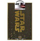 Star Wars – Logo Rubber Doormat 40 x 60 cm . lábtörlő