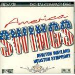 AMERICA SWING -  Houston Symphony Orchestra (Orchestra), Newton Wayland (Performer). zenei cd