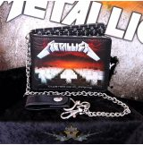 Metallica - Master of Puppets Album Wallet with Chain.   import pénztárca