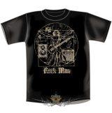 GITÁR MAN - ROCK MAN 2016. BLACK ... vicces, poen póló