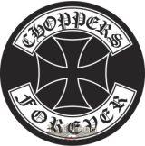 CHOPPERS FOREVER. hátfelvarró