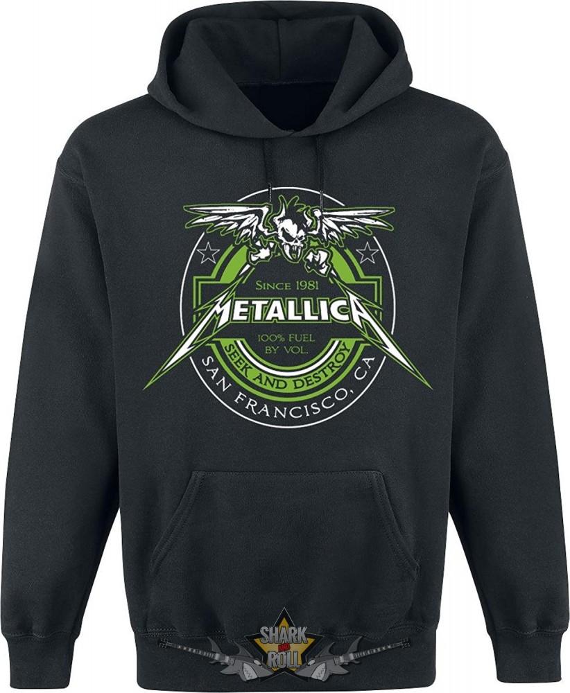 197eb1aaaa METALLICA - 100 % FUE kapucnis pulóver - Shark n Roll - Rock- Metal ...