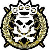 Five Finger Death Punch - Sew On Patch Knuckles  zenekaros felvarró