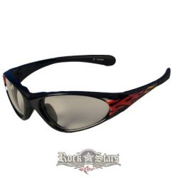 Lángnyelves Szemüveg.  motoros szemüveg