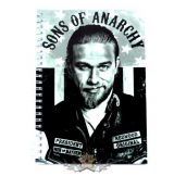 SONS OF ANARCHY - JAX -  Logo A5 Wiro Notebook.   napló, notesz