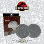 JURRASIC PARK - DRINKS COASTER SET. Metal coasters. 4. db. poháralátét