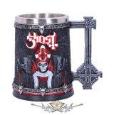 Ghost - Papa Emeritus III Red Tankard.. korsó, kehely